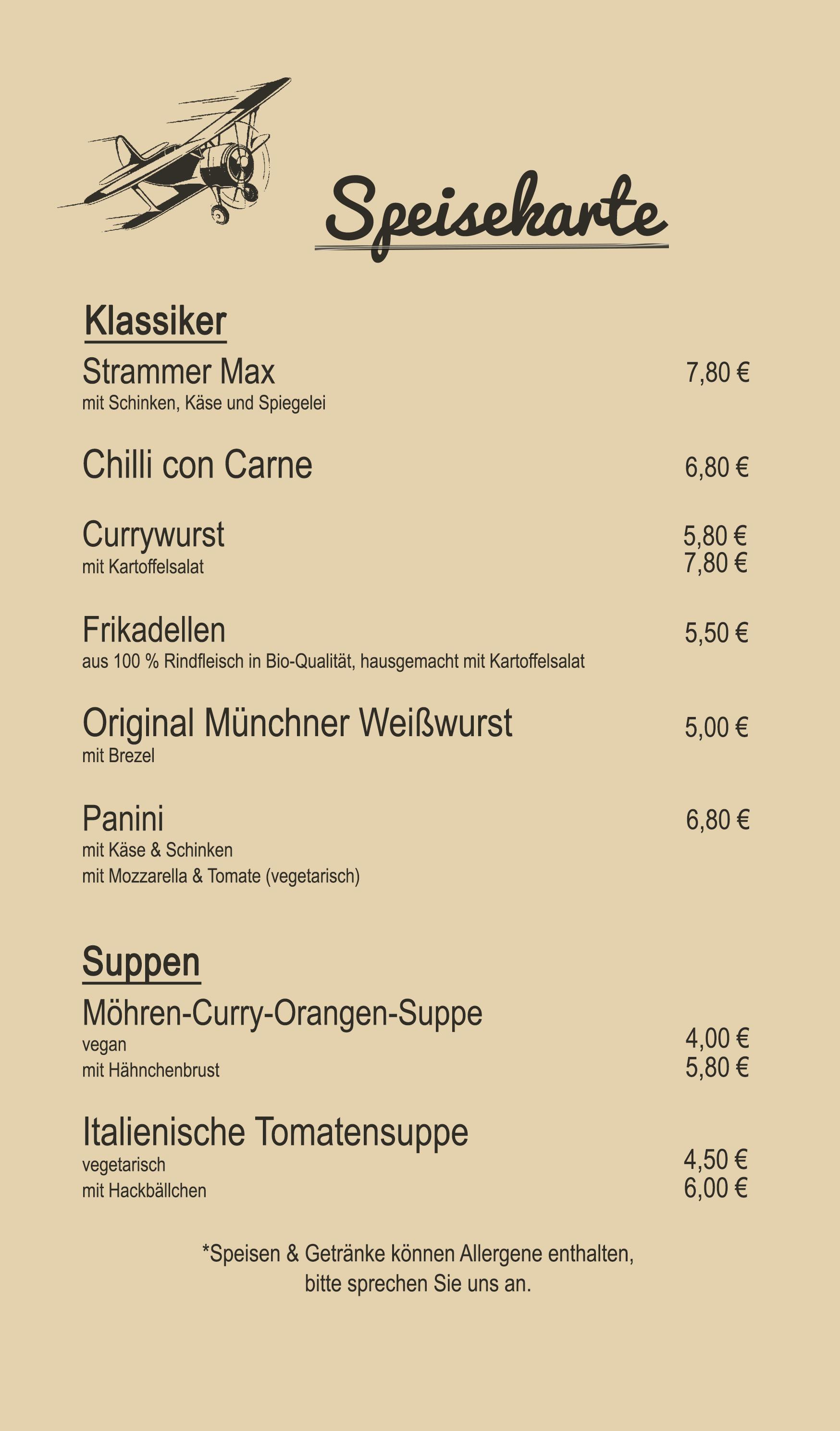 Ewige Liebe Neuenkirchen Speisekarte
